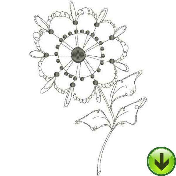Posie 4 Embroidery Design | DOWNLOAD