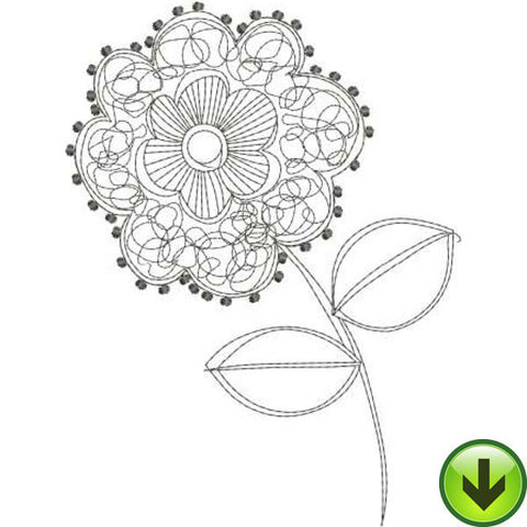 Posie 5 Embroidery Design | DOWNLOAD
