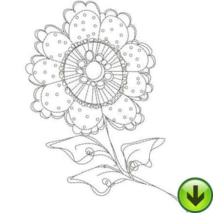 Posie 6 Embroidery Design | DOWNLOAD
