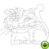 ABC Cats A-M Machine Embroidery Collection | Download
