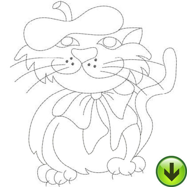 ABC Cats A-M Embroidery Machine Design Collection