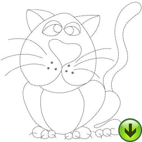 ABC Cats N-Z Embroidery Machine Design Collection | Download