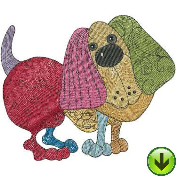 Sweetie Embroidery Design | DOWNLOAD