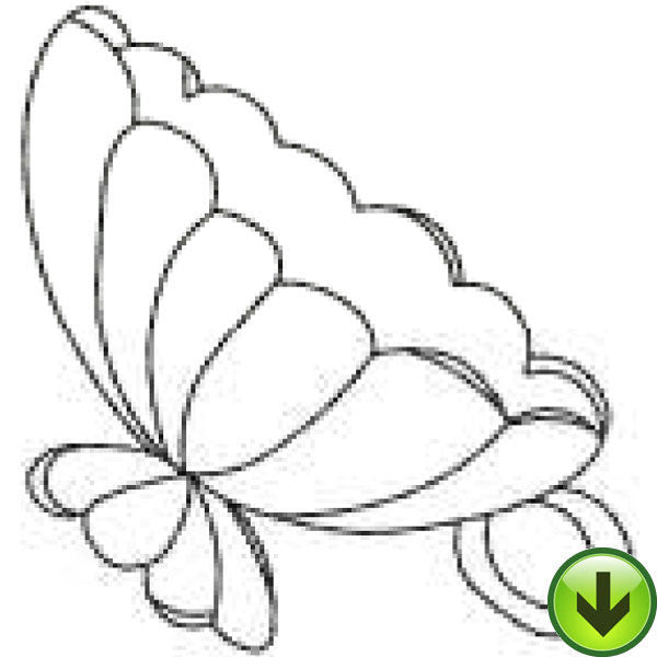 Shell Cup Embroidery Design | DOWNLOAD