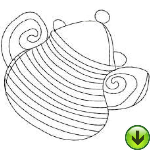 Stripe Sugar Embroidery Design | DOWNLOAD
