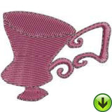 Ladies Tea 2 Machine Embroidery Collection | Download