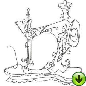Sew Machine 3 Embroidery Design | DOWNLOAD