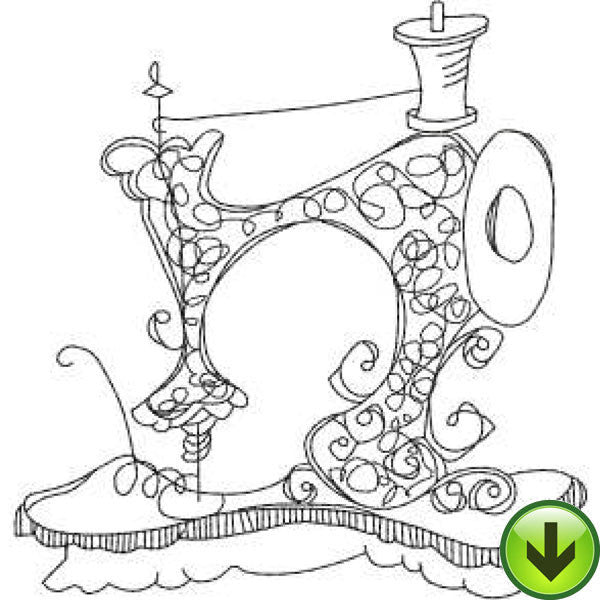 Sew Machine 6 Embroidery Design | DOWNLOAD
