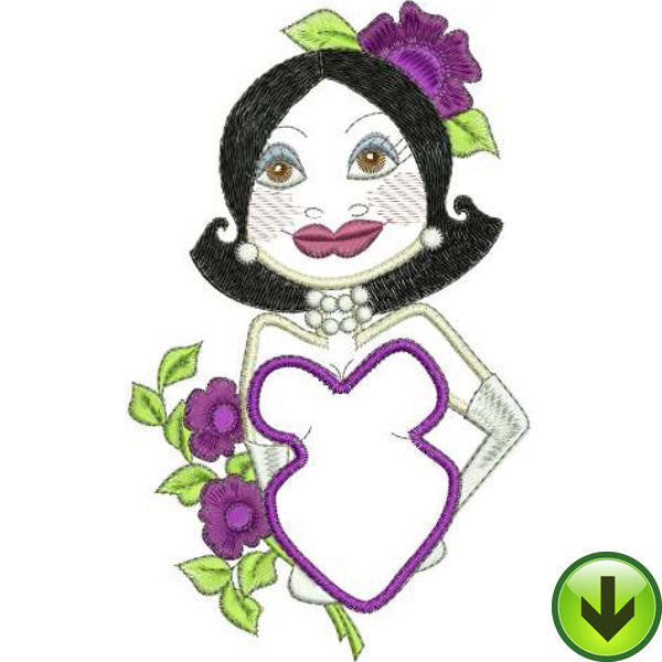 Liz Embroidery Design | DOWNLOAD