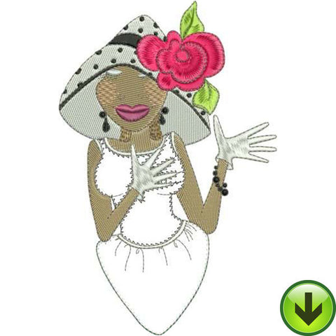 Mary Appliqué Embroidery Design | DOWNLOAD