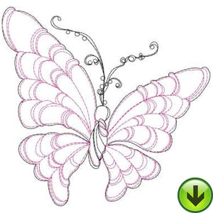 Brella Embroidery Design | DOWNLOAD