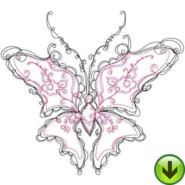 Frill Embroidery Design | DOWNLOAD