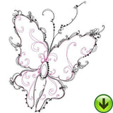 Beautiful Butterflies Machine Embroidery Collection | Download