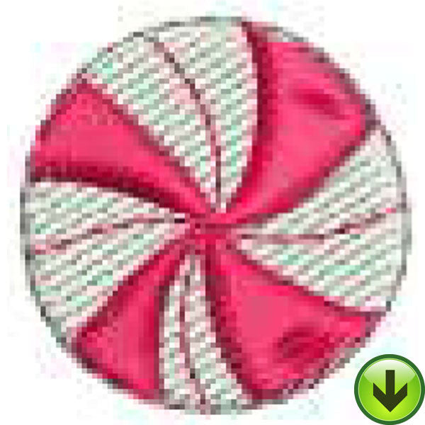 Peppermint Embroidery Design | Download