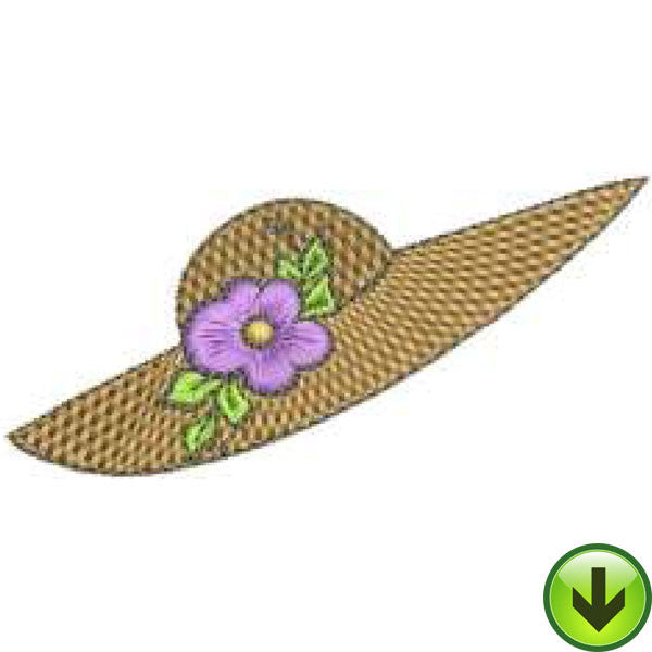 Hat 2 Machine Embroidery Design | Download