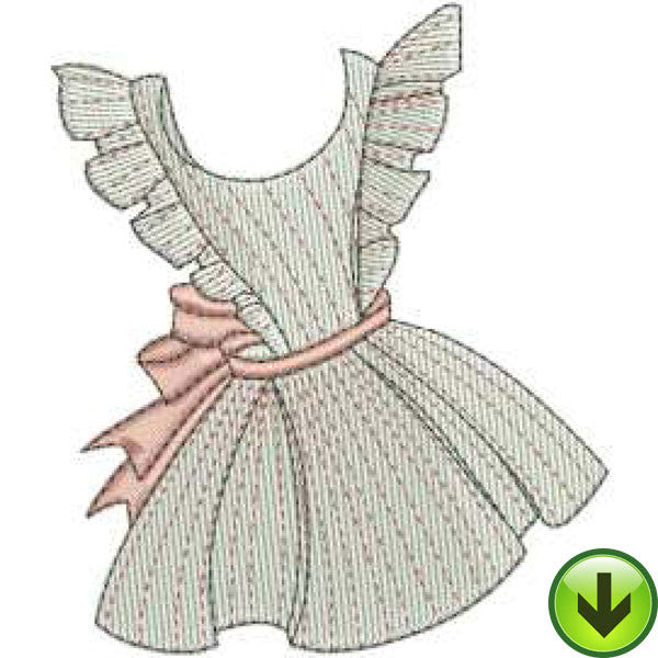 Apron 2 Machine Embroidery Design | Download