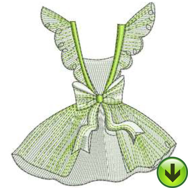 Apron 3 Machine Embroidery Design | Download