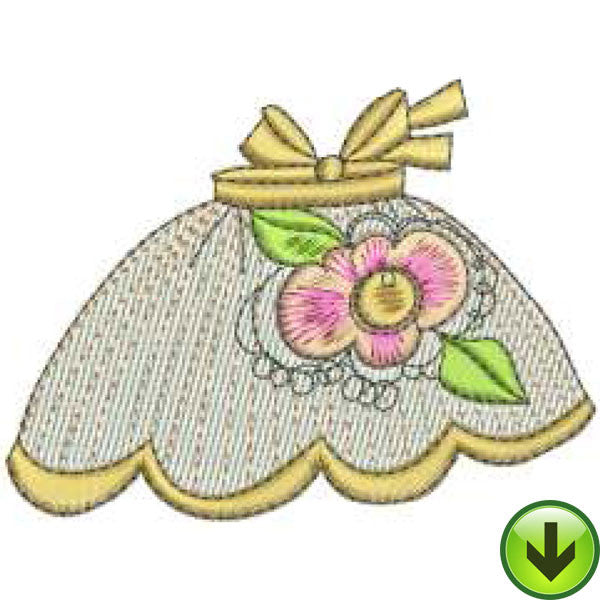 Apron 4 Machine Embroidery Design | Download