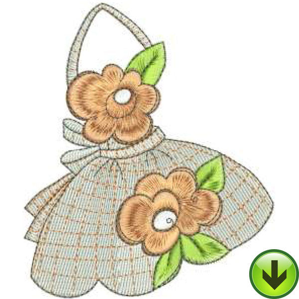 Apron 5 Machine Embroidery Design | Download