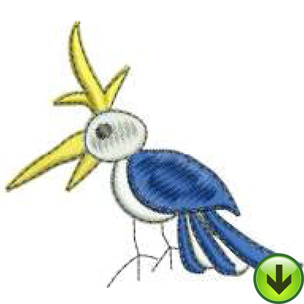 Bird 1 Machine Embroidery Design | Download