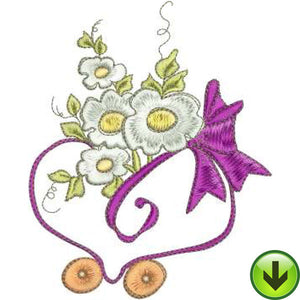 Flower Car Machine Embroidery Design | Download