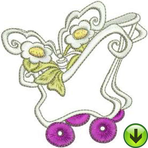 Butterfly Bin Machine Embroidery Design | Download