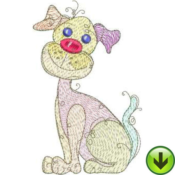 Dog Gone! Embroidery Machine Design Collection | Download