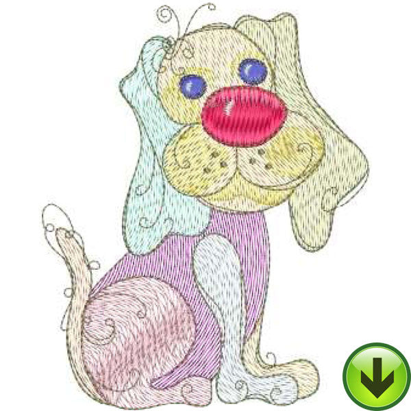 Best Friend Machine Embroidery Design | Download