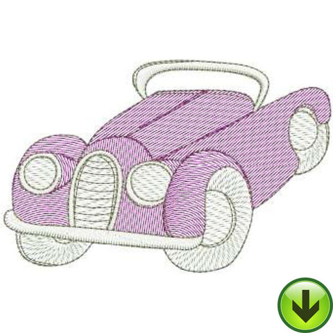 Escapee Machine Embroidery Design | Download
