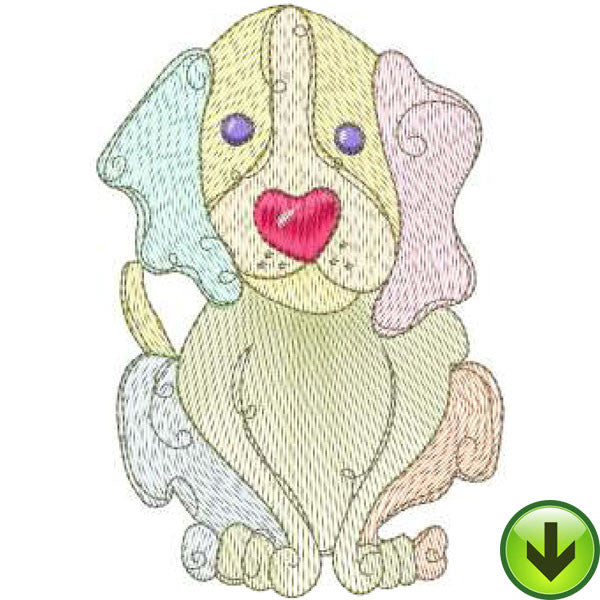 Dog Gone! Embroidery Design Collection | Download