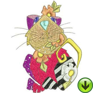 Dandy Machine Embroidery Design | Download