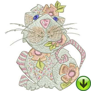 Girlie Machine Embroidery Design | Download