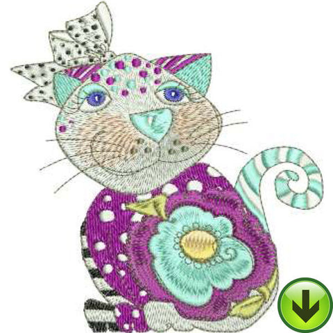 Petunia Machine Embroidery Design | Download