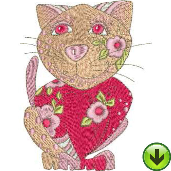 Rosie Machine Embroidery Design | Download