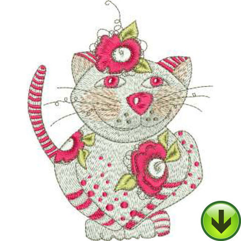 Ruby Machine Embroidery Design | Download