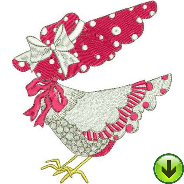 Chicken Chique 1 Machine Embroidery Design Collection | Download