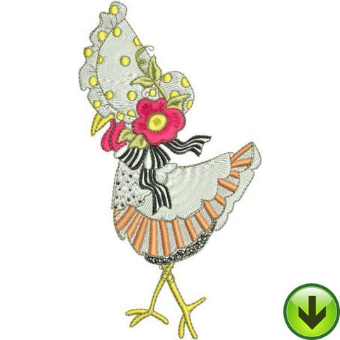 Struttin' Machine Embroidery Design | Download