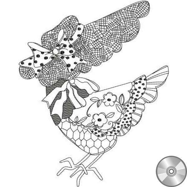 Chicken Chique 2 Embroidery Machine Design Collection