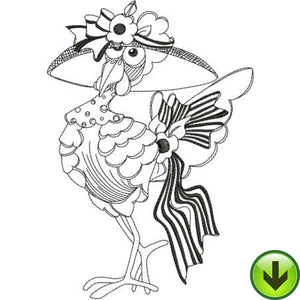 My Fair Chick Machine Embroidery Design | Download