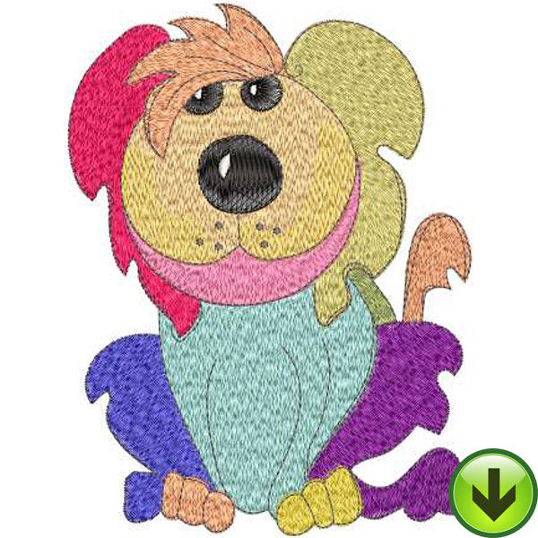 Curley Machine Embroidery Design | Download