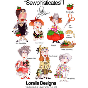 Sewphisticates 1 Embroidery Machine Design Collection