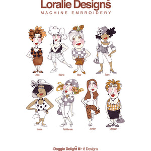 Doggie Delight 3 Embroidery Machine Design Collection