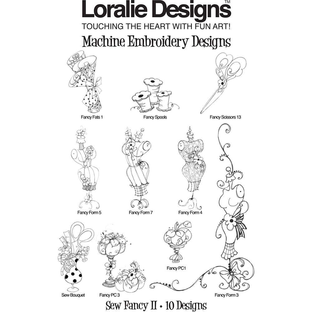 Sew Fancy 2 Embroidery Machine Design Collection
