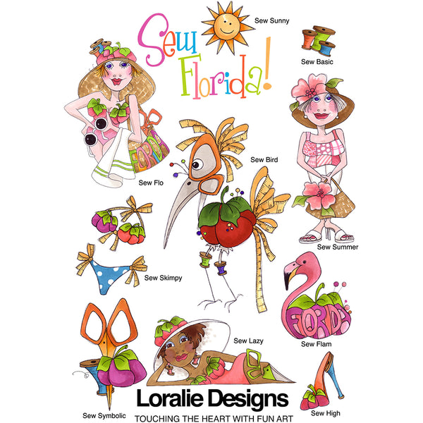 Sew Florida 1 Embroidery Machine Design Collection