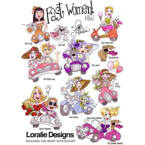 Fast Women Filled Embroidery Machine Design Collection