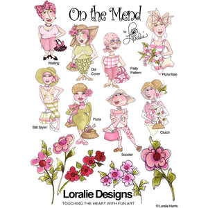 On the Mend 2 Embroidery Machine Design Collection