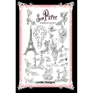 Sew Paree Embroidery Machine Design Collection