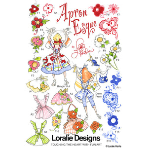 ApronEsque Embroidery Machine Design Collection