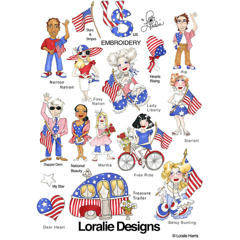 US Embroidery Machine Design Collection
