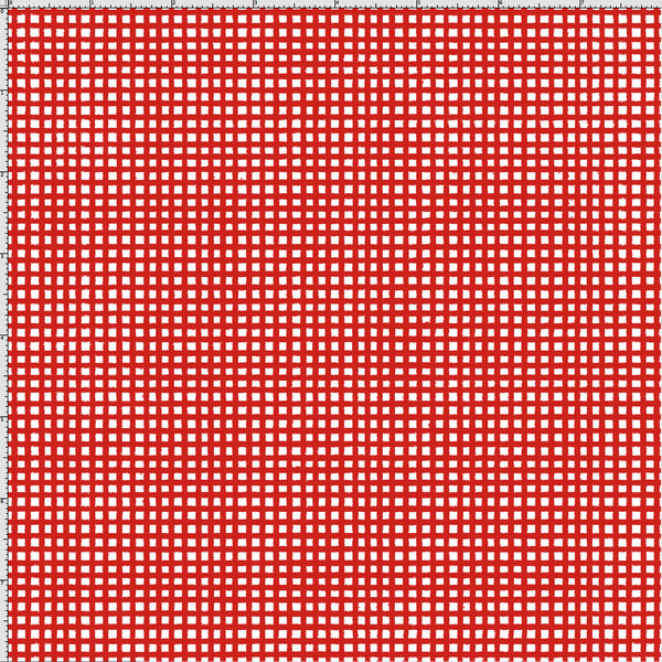 Chipper Check Red Fabric Red Checkered Fabrics Loralie